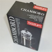Bodum Chambord 1-3 Cup Coffee Plunger