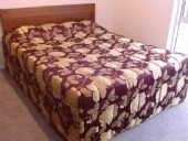 RoomMaster DSC08247 Quality Floral Boxed and Quilted Bedspread