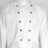 Chefs Double Breasted White Jacket