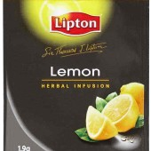 Lipton STL Lemon  Envelope tea bags 25's / Box