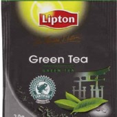 Lipton STL  Green  Envelope  tea bags 100's / Box