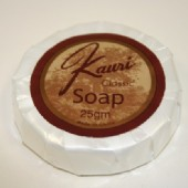 Kauri Classic Pleat Wrapped Soap - 20g 100/CTN