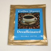 Coffee Master Decaffeinated Coffee 500 Sachets / Carton
