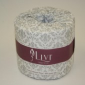3007 Livi Impressa Luxury Bathroom Tissue 2 Ply 400 Sheet /48 Rolls/Ctn