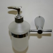 Polished Wall Mounted Hand Soap Dispenser