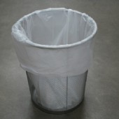 RM-White Plastic Bin Linders on the Roll (Medium) - 30/roll
