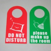 Do Not Disturb Door Sign