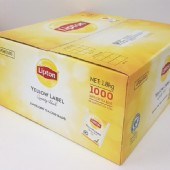 Lipton Yellow Label Quality Black Envelope Tea Bags 1000 / Carton