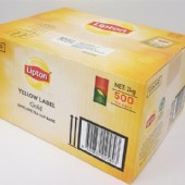 Lipton Yellow Label Gold Envelope Tea Bags 500 / Carton
