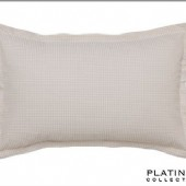 Platinum Ascot Linen Pillowcase Standard