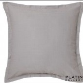 Platinum Ascot Pewter Pillowcase European