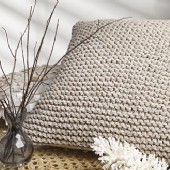 Private Collection Cove Natural Square Cushion