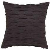 Private Collection Ellis Black Square Cushion
