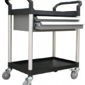 HRM-STR121FPK 2 Level Service Trolley with Drawers