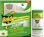RAID INDOOR AUTOMATIC INSECT CONTROL SYSTEM